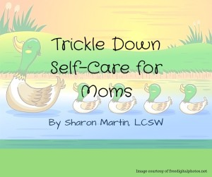 Trickle Down Self Care